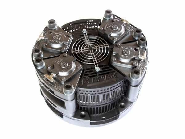 Air applied tension brakes